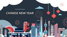 Microsoft Store: Chinese New Year on Behance