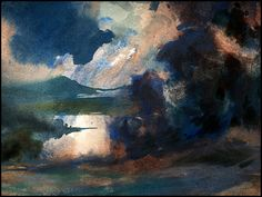 breathtakingly beautiful. E. Tiemens, watercolor