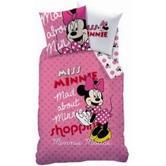 Housse de couette Minnie Fun pour lit simple