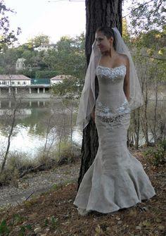Wedding Dress Custom Made ( Orinda, Bay Area ) From Milutsa