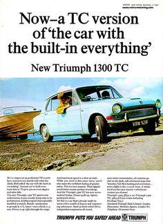 Triumph 1300 TC Advert KRW921F