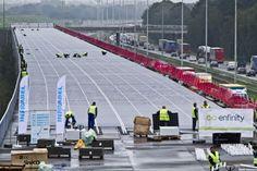 enfinity solar tunnel, paris amsterdam solar rail tunnel, solar rail tunnel, two mile solar tunnel, high speed rail,
