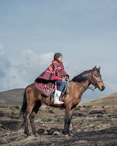 """The Horsemen Of Semonkong"": Portrait Photography By Thom Pierce"