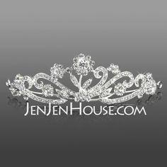 Headpieces - $19.99 - Gorgeous Rhinestones Wedding Bridal Tiara/ Headband/ Headpiece (042005712) http://jenjenhouse.com/Gorgeous-Rhinestones-Wedding-Bridal-Tiara--Headband--Headpiece-042005712-g5712