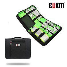 Bubm caja de almacenamiento de bolsa de transporte digital del recorrido de BSL para los altavoces accesorios electrónicos de teléfonos inteligentes