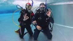 OWD - Open Water Diver Ausbildung Lektion Schwimmbad schwimmen-tauchen-tirol.at Videos, Youtube, Diving, Training, Swimming, Youtubers, Youtube Movies