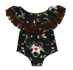 Victory! Check out my new Stylish Floral Tassel Design Bodysuit for Baby Girl, snagged at a crazy discounted price with the PatPat app.