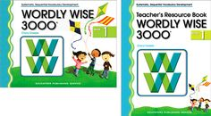 Wordly Wise--- vocabulary apps, workbooks, software