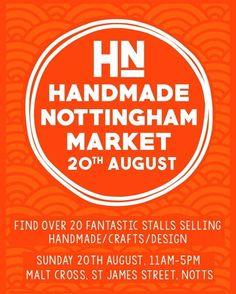 Woohoo!!! regram @hnmarkets Just 2 weeks to go till our Summer Market!   Follow our profile link for more info and to see our exhibitor line up! . . . #hnmarkets #summermarket #smallbiz #craftfair #craftmarket #whatsoninnottingham #Nottinghamevents #itsinnottingham #supportindependent #craftsposure #shoplocal #shopsmall #designermakers #creativenottingham #creativenotts #buyhandmade #handmadeisbetter #handmadeisbest