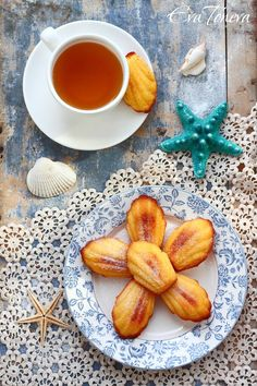 Almond madeleines #Christmas #thanksgiving #Holiday #recipe #food