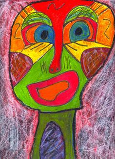 i'm supposed to be on vacation Kimmy Cantrell, Modern Art, Contemporary Art, Pablo Picasso, Face Art, Painting & Drawing, Street Art, Mixed Media, Abstract Art