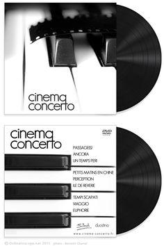 Cinema Concerto (Album Art Design)  http://cinema-concerto.fr  http://ostinatoscope.net
