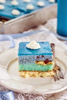 Bernika - mój kulinarny pamiętnik: Ciasto smerfetka