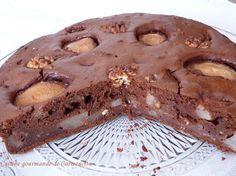 Gâteau+poires+chocolat+et+noix