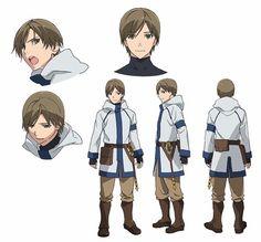 Grimgar of Fantasy and Ash Anime Reveals Cast, Character Designs - News - Anime News Network:SEA Character Model Sheet, Character Modeling, Character Concept, Character Art, Concept Art, Character Ideas, Anime Oc, Fanarts Anime, Anime Manga