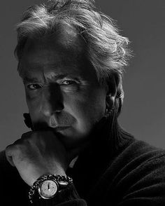 Photo of he's sexy and he knows it for fans of Alan Rickman.