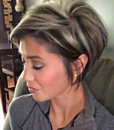 Short Hairstyles For Women, Easy Hairstyles, Short Haircuts, Wedge Hairstyles, Stacked Haircuts, Long Pixie Hairstyles, Bob Haircuts For Women, Halloween Hairstyles, Older Women Hairstyles