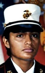 Juana Navarro-Arellano Died April 2006 Serving During… Real Hero, My Hero, Once A Marine, Fallen Heroes, Military Women, Us Marines, American Soldiers, Okinawa Japan, Marine Corps