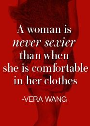 Vera Wang is a wise woman!