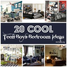 20 Cool Teen Boys Bedroom Ideas for the years to come