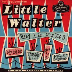 1956 Little Walter vintage album cover