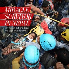 Nepal rescuers pull teen survivor out of the rubble five days after quake - The Washington Post