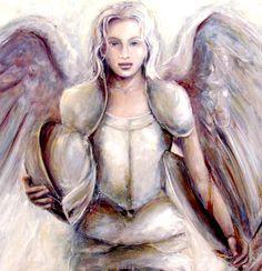 Guardian Angel -  Paintings of Anna Amrhein, Germany