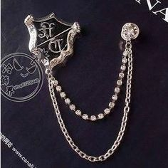 Shield Chain Brooch from #YesStyle <3 Trend Cool YesStyle.com