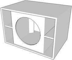 Projeto de uma sub graves compacta para alto falante de 18 | Áudio e Eletrônica