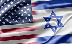 Israel US flag