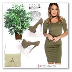 """""""Amiclubwear 28"""" by miincee ❤ liked on Polyvore featuring Nearly Natural"""