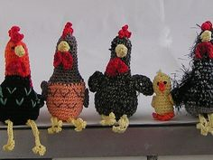 free crochet pattern chicken flock : Free crochet pattern Chicken hatchet what you need: Cotton yarn (for example Catania) in different colors Crochet hook No. Filling wool black half pearls (optional) Stopfnadel Abbreviations: M = mesh LU = Luftma Diy Crochet And Knitting, Crochet Hooks, Free Crochet, Cotton Crochet, Crotchet Patterns Free, Knitting Patterns, Crochet Animals, Easter Crafts, Catania