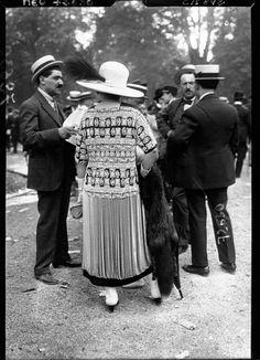 1910-1920:Fashion at the Parisian races