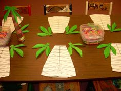 This past Sunday we continued in our lessons on the Judges! The children were greeted by BIG blow up palm trees. They knew they were in f...