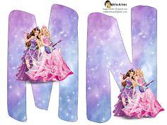Alfabeto Barbie Princesa y Rock Star. | Oh my Alfabetos!