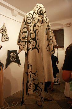 https://flic.kr/p/2UromQ   gallery show, felted garments