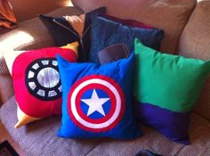 Avengers Pillows by adrian