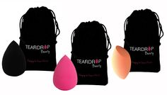 Original Teardrop Beauty Make-Up Blender Sponge - 3 Colours Top brand make-up blender sponge for a flawless finish      Choose from 3 colours: black, orange or pink      Great for professional make-up application      Use with all kinds of foundation, concealers, contour and mow      Tapered to reach all areas of the face, eyes and corners of the nose      Sponge measures approximately 6cm x...