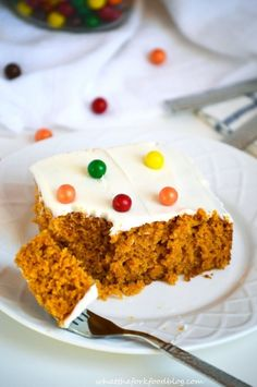 Pumpkin Cake with Cream Cheese Frosting | Community Post: 15 Gluten Free Pumpkin Treats To Eat All Fall