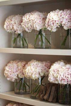 vase of hydranges on – Bing images - Modern Fresh Flowers, Pink Flowers, Beautiful Flowers, Hydrangea Vase, Hydrangeas, Hydrangea Centerpieces, Hydrangea Macrophylla, Wedding Centerpieces, Wedding Decorations