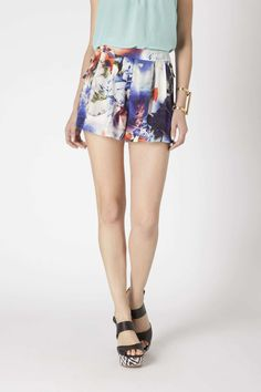 Blue Violet Shorts | Anthropologie