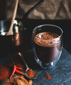 Hot Chocolate Winter Drink Recipes | Enjoy these delicious hot chocolate recipes all winter long. #refinery29 http://www.refinery29.com/best-hot-chocolate-recipes