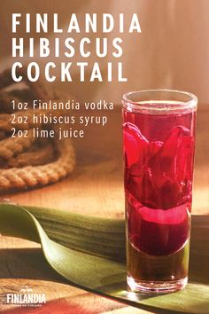 A Finlandia Hibiscus Cocktail is a delicious drink for a warm spring day. This flavorful and vibrant recipe is perfect for serving at a bridal shower. Click here to see more tasty cocktails.