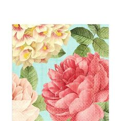 Blissful Blooms Lunch Napkins - Party City