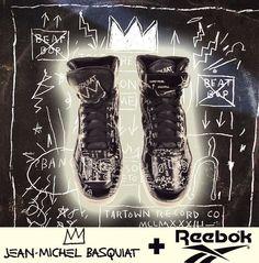 In Tribute To Basquiat, Reebok Creates Some Cool Kicks.