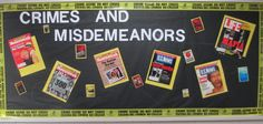 Crime and Mystery Bulletin Board