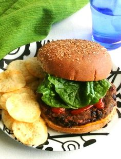 Kidney and Black Bean Burgers take advantage of some of the best slew of ingredients and the result is flavorful and delicious.