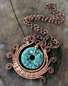 Copper Wire Wrap by tina