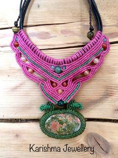 Unakite necklace