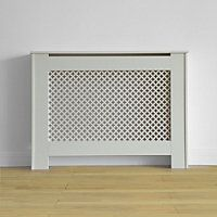 We love this Oxford radiator cabinet in smooth white - a modern take on a classic look. Hide away those radiators and make a beautiful feature in your room or hallway. Living Area, Living Room, Radiator Cover, Hallway Decorating, Radiators, Outdoor Living, New Homes, Home Appliances, Cabinet